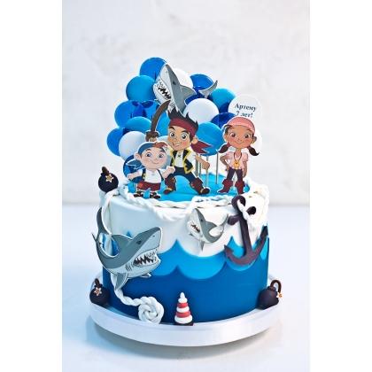 Торт с пиратами