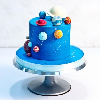 Торт с планетами