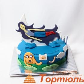 Торт Время приключений