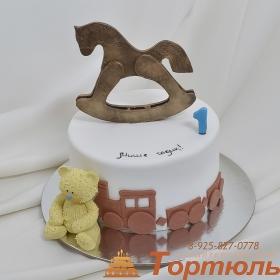 Торт с лошадкой