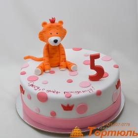Торт с тигренком