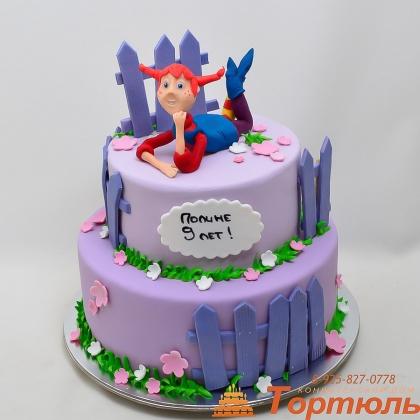 Торт Пеппи длинный чулок