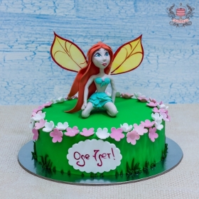 Торт фея Флора