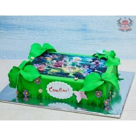 Фото-торт фея Динь-Динь