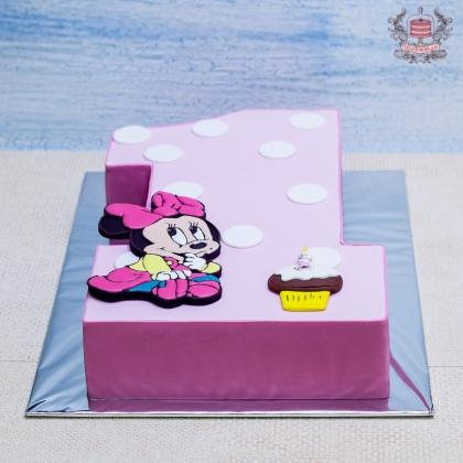 Торт Мини Маус на годик