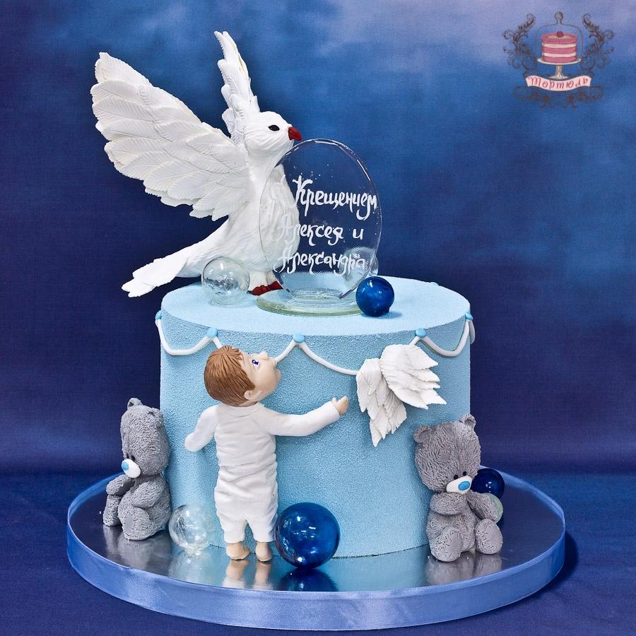 черничного торт на крестины с ангелами фото плотина