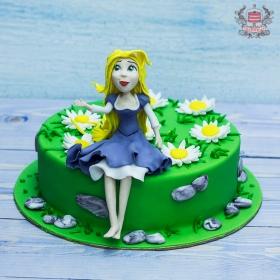 Торт рапунцель