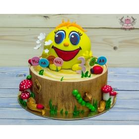 Торт с колобком