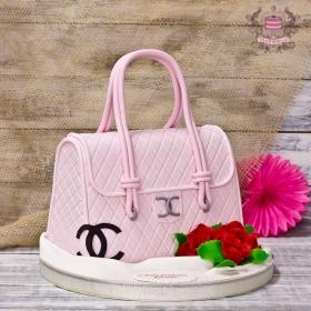 Торт сумка Chanel