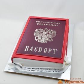 Фото-торт паспорт