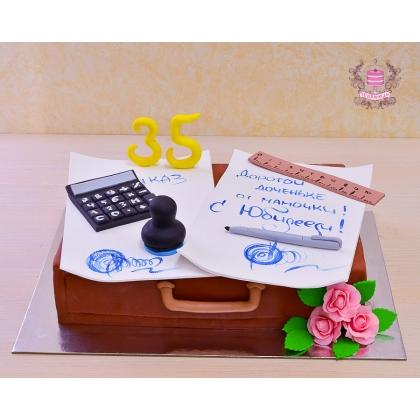 Торт для бухгалтера