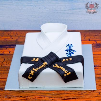Торт для каратиста