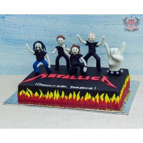 Торт Металлика