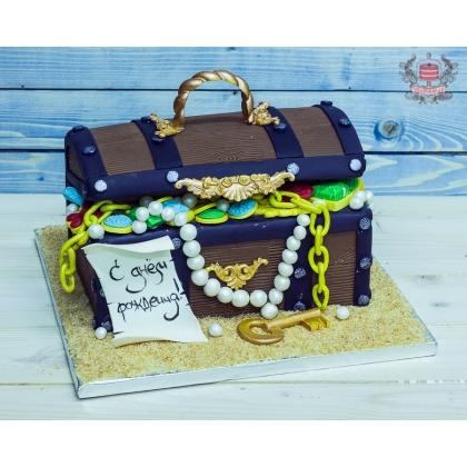 Торт сокровища на день рождение