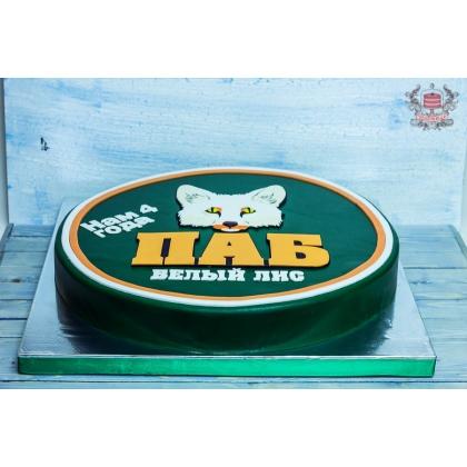 Торт на день рождения бара