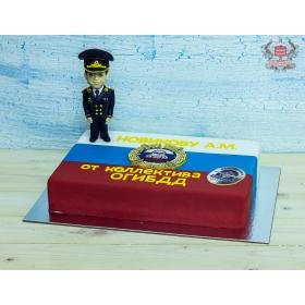 Торт сотруднику ГИБДД
