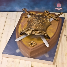 Торт доспехи рыцаря