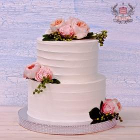 Торт женщине на день рождения без мастики