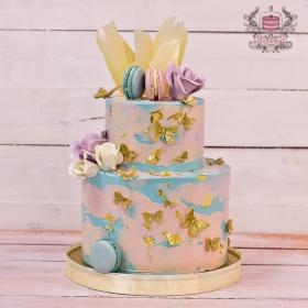 Праздничный торт на день рождения