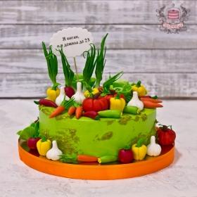 Торт для вегана на др