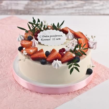 Торт без мастики