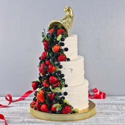 Торт с рогом изобилия