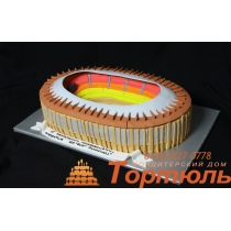 Торт стадион Лужники