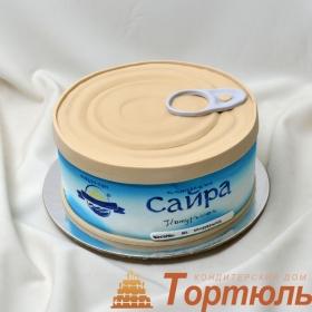 Торт консервная банка