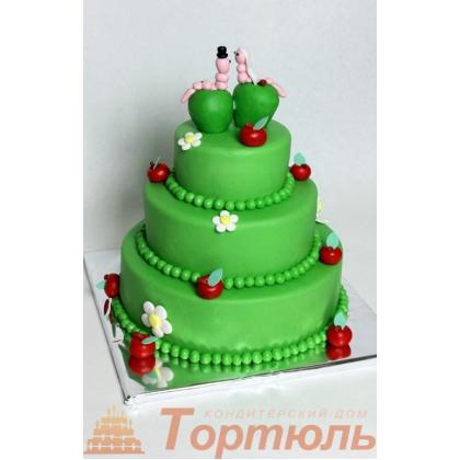 Торт Свадебный Яблочки